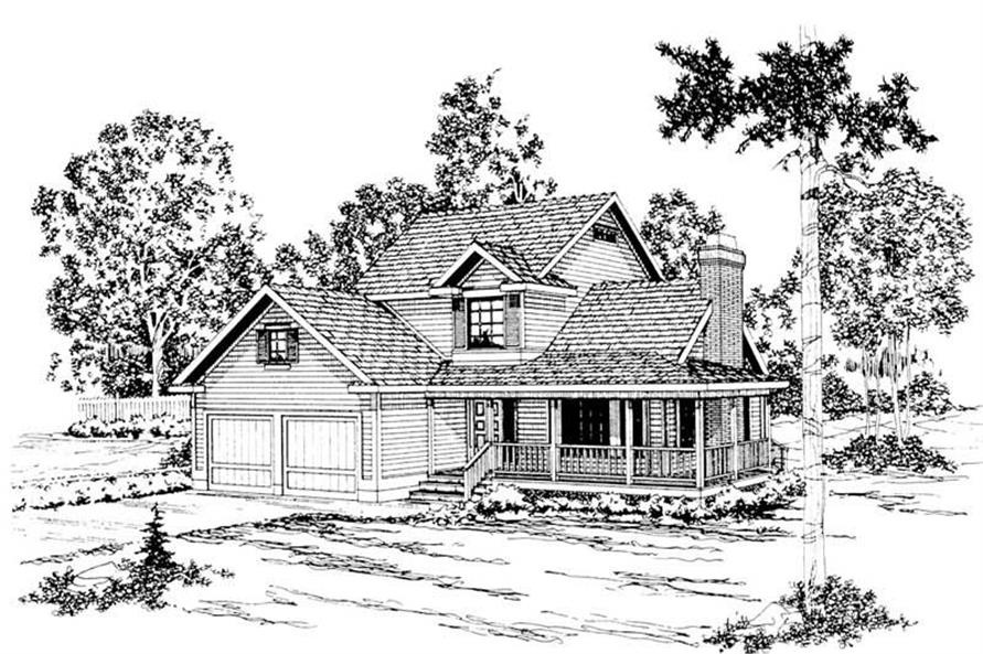 Main image for house plan # 2866