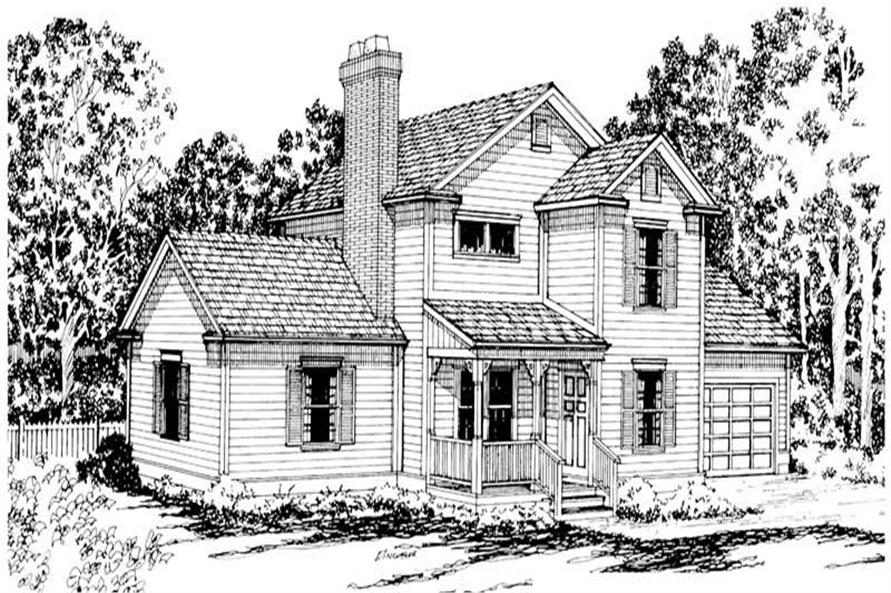 Main image for house plan # 2863