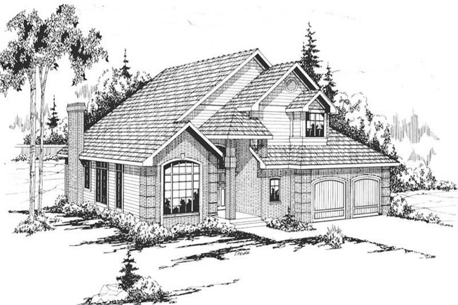 Main image for house plan # 2859
