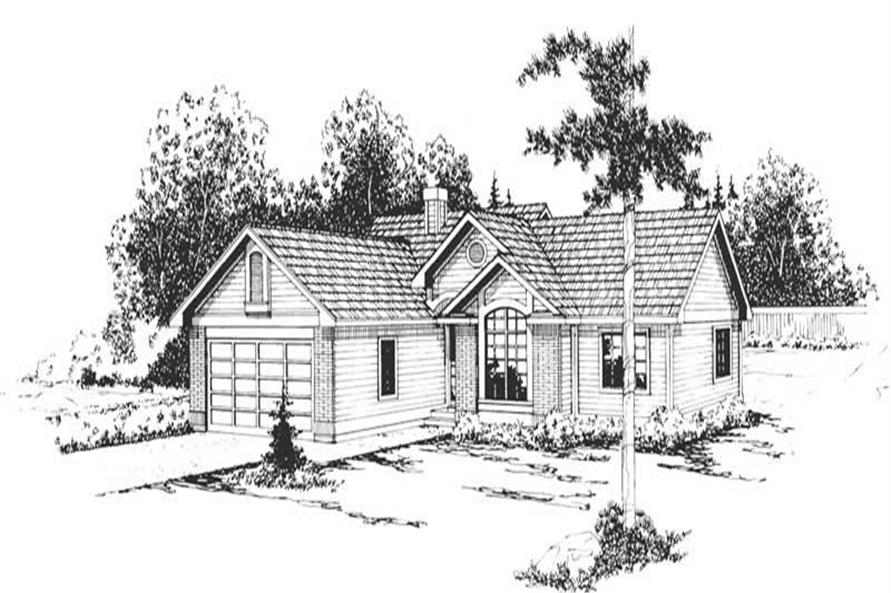 Main image for house plan # 2857