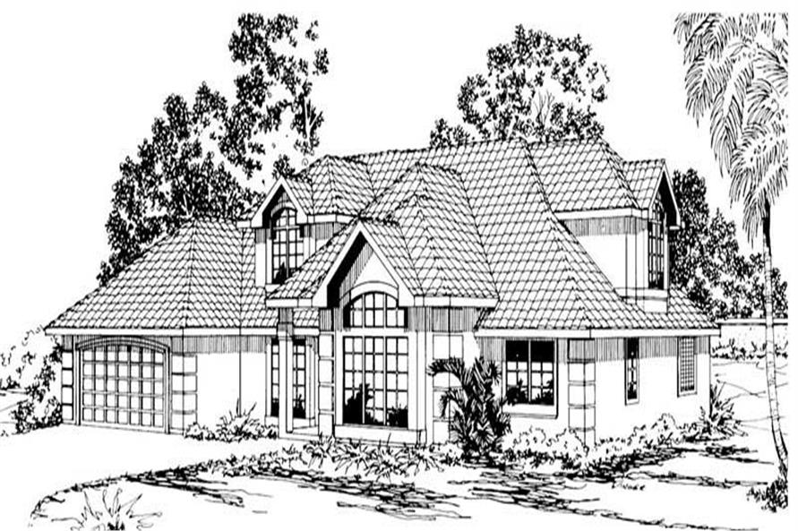 Main image for house plan # 3159