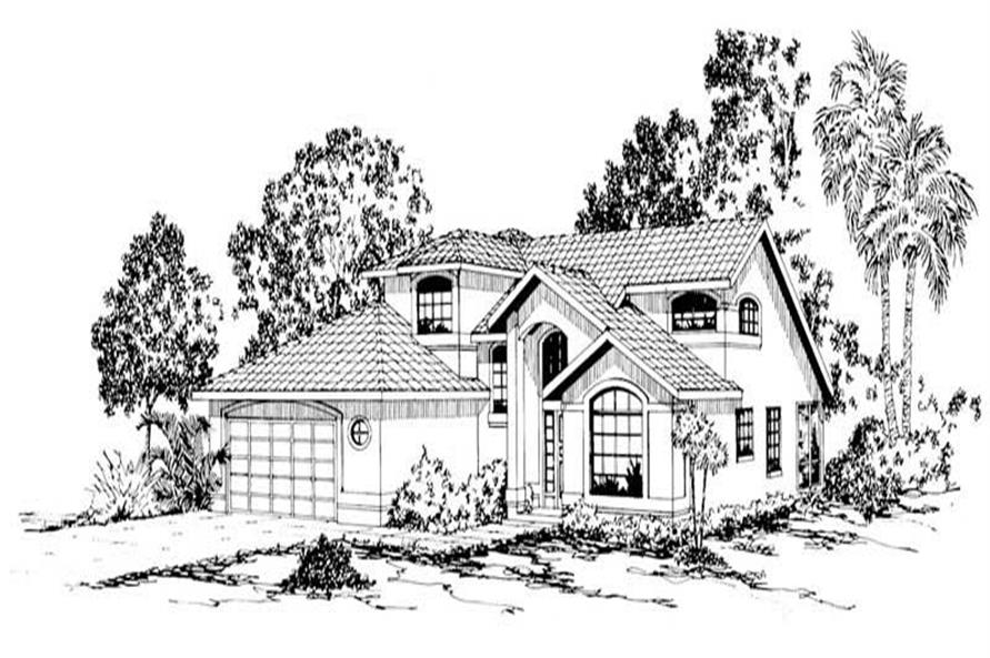 Main image for house plan # 3155