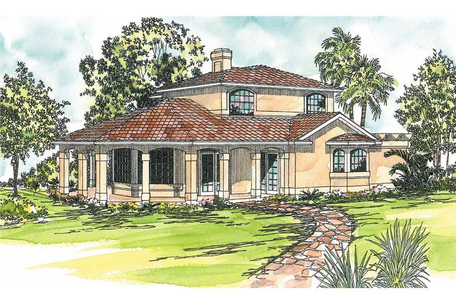 Main image for house plan # 3152