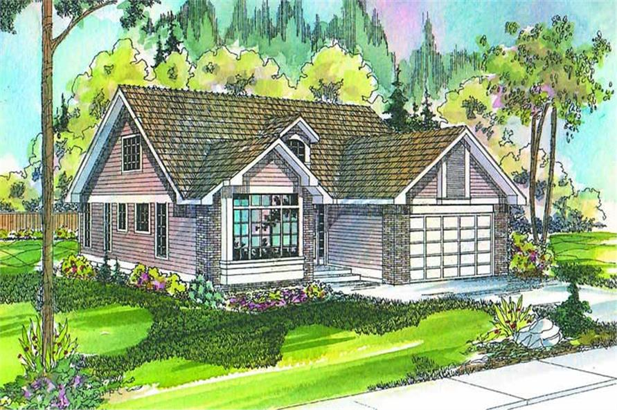 Main image for house plan # 2817