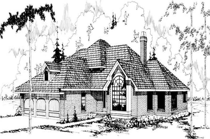 Main image for house plan # 2823