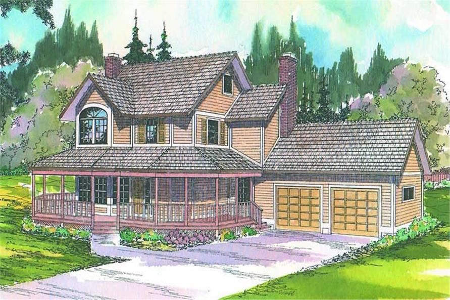 Main image for house plan # 2822