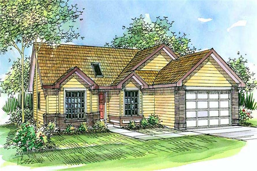 Main image for house plan # 2820