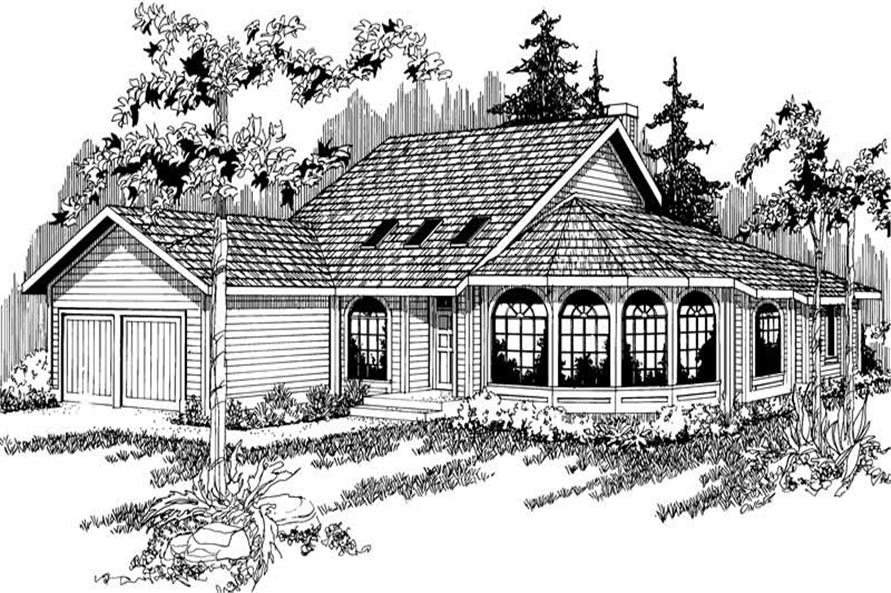 Main image for house plan # 2818