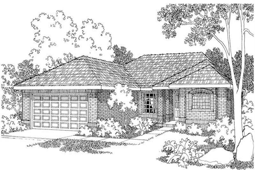 Main image for house plan # 3175