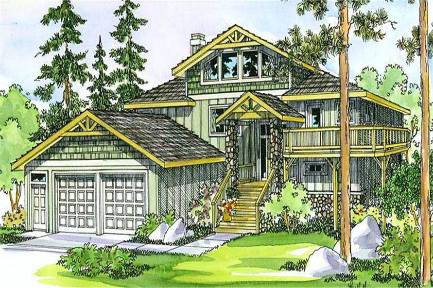Main image for house plan # 3080