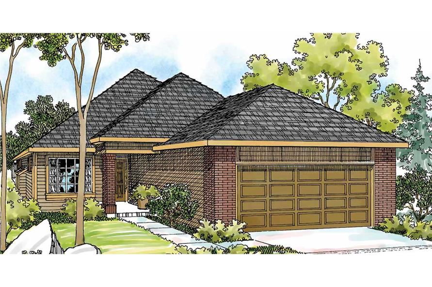 Main image for house plan # 3081
