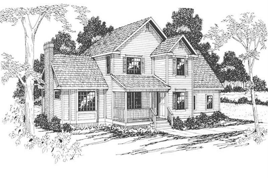 Main image for house plan # 3089