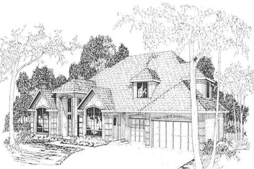 Main image for house plan # 3095