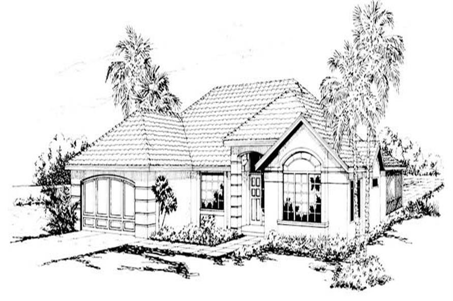 Main image for house plan # 3143