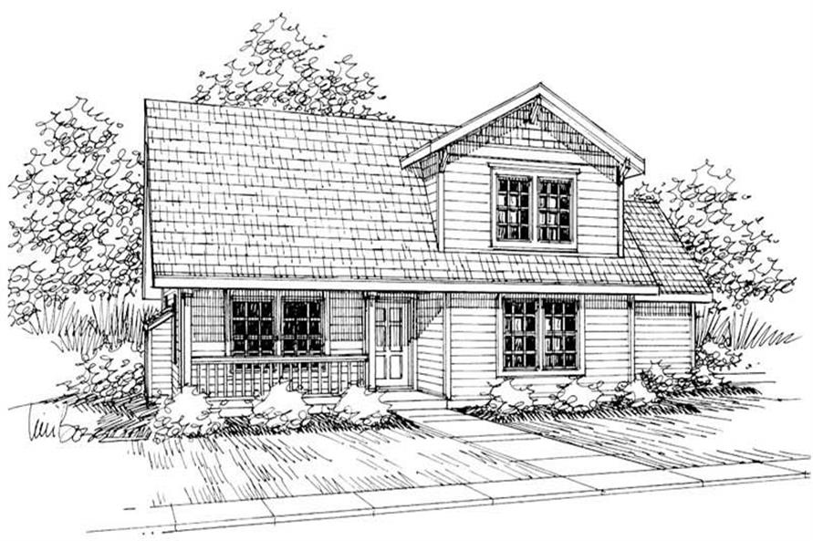 Main image for house plan # 3048