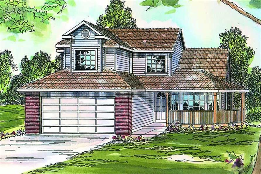 Main image for house plan # 3054