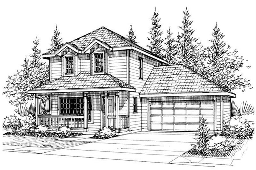 Main image for house plan # 3057