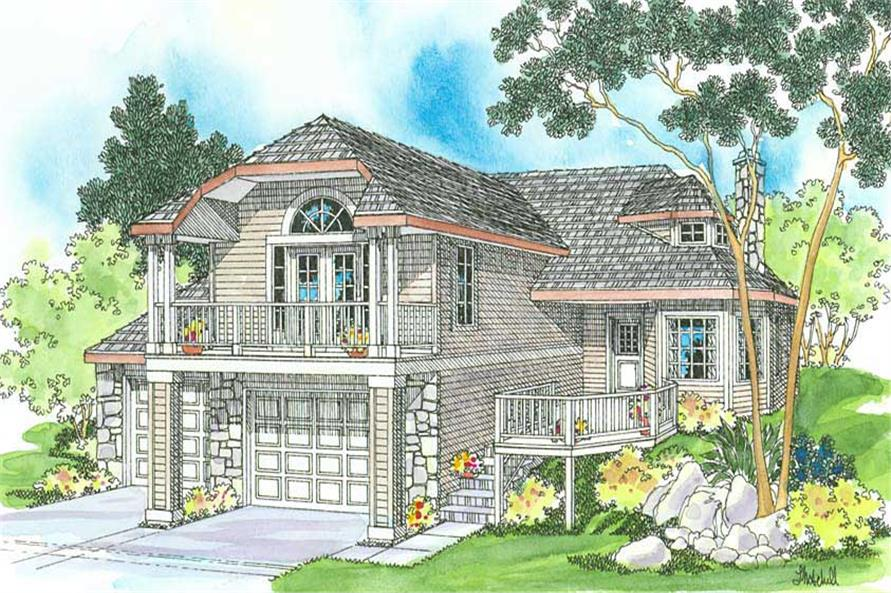 Main image for house plan # 3066