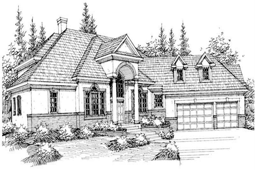 Main image for house plan # 3067