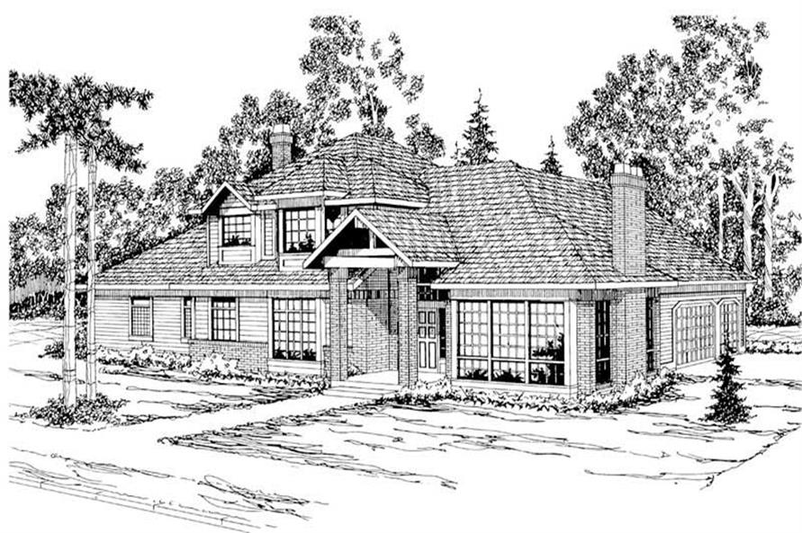 Main image for house plan # 3068