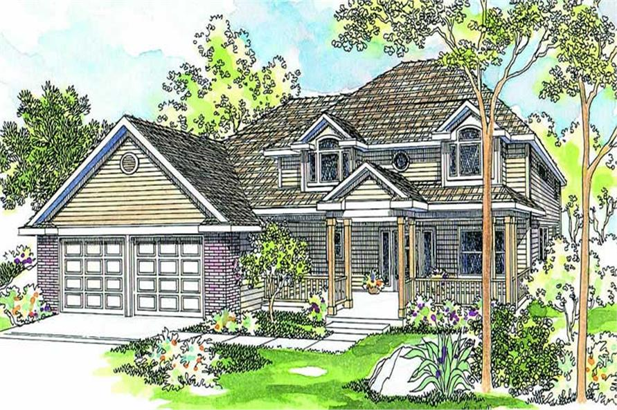 Main image for house plan # 3069
