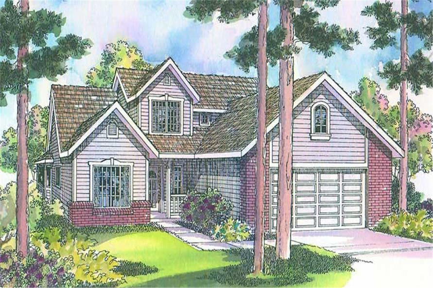 Main image for house plan # 3071