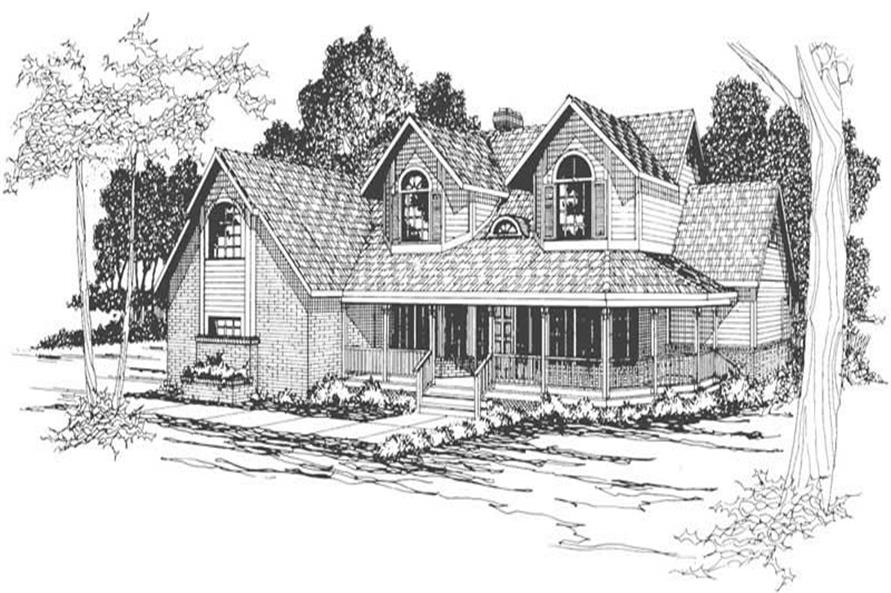 Main image for house plan # 3097