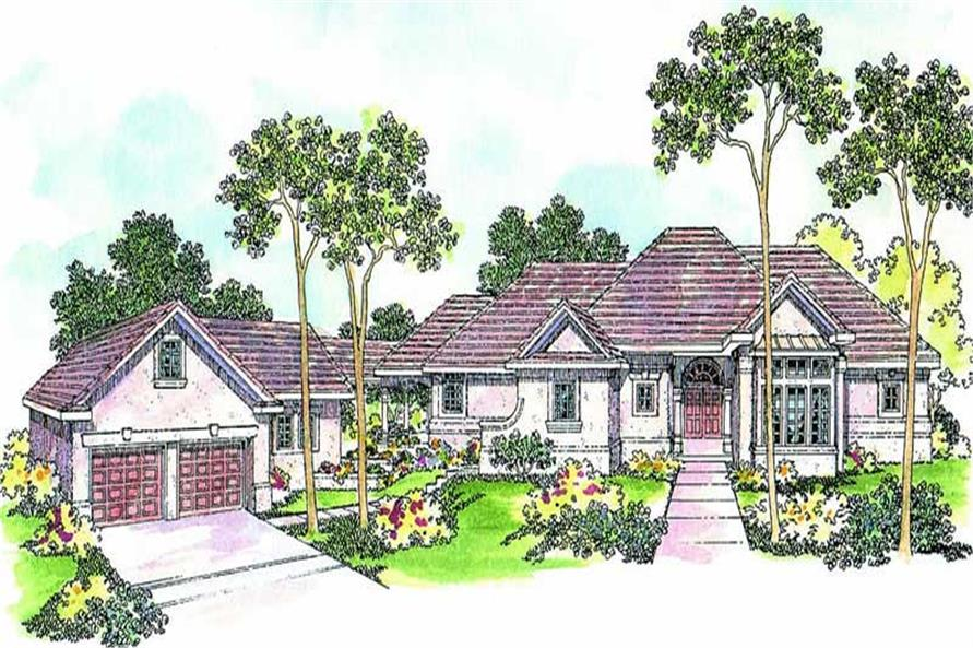 Main image for house plan # 3130