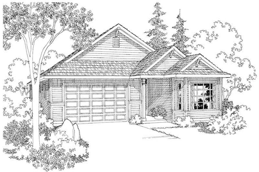 Main image for house plan # 2920