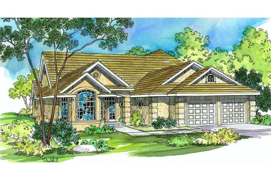 Main image for house plan # 2919