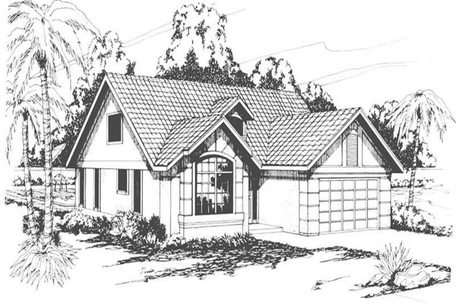 Main image for house plan # 3137
