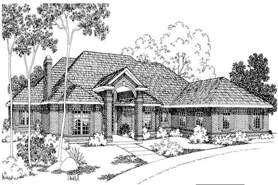 Main image for house plan # 2995