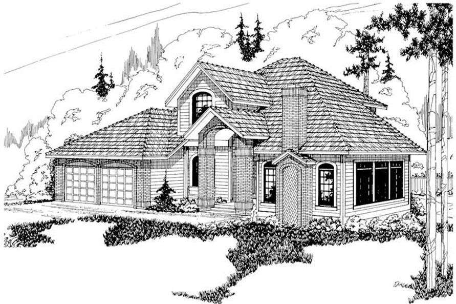 Main image for house plan # 2993