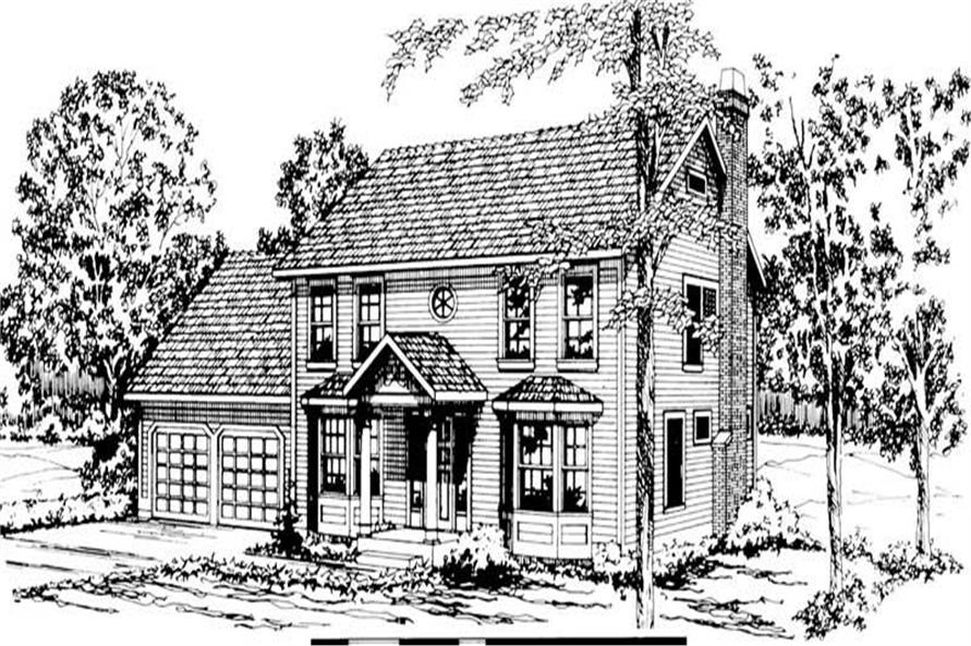 Main image for house plan # 2881