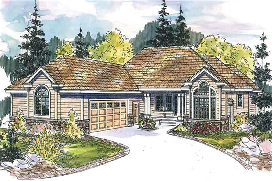 Main image for house plan # 13233