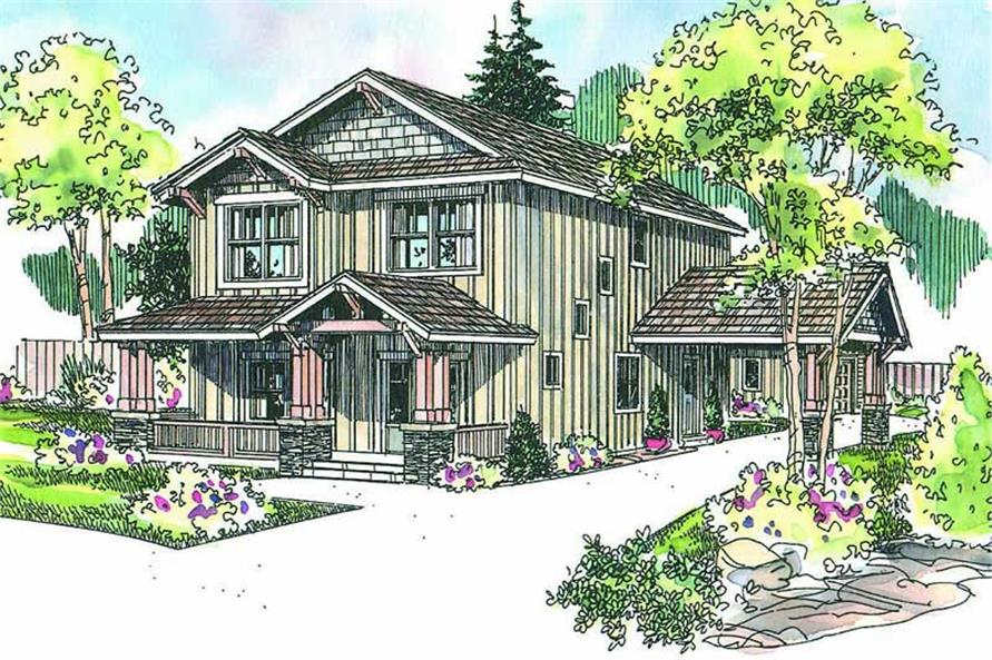 Main image for house plan # 13132