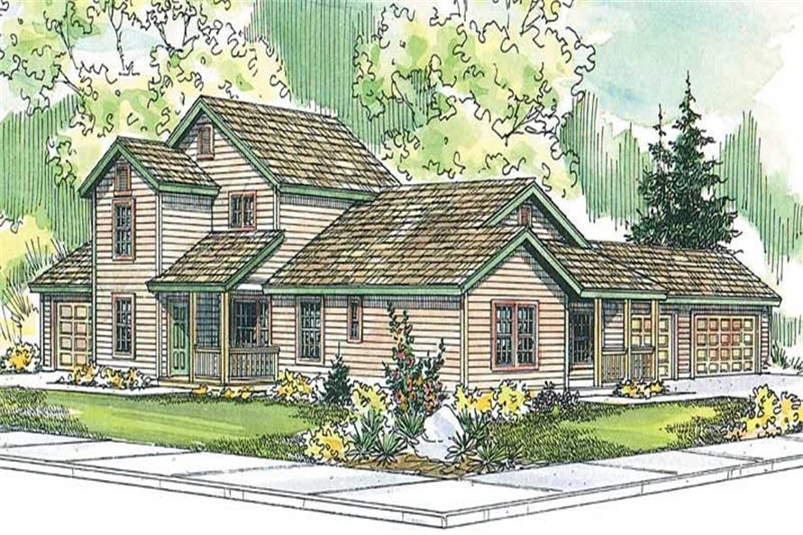 Main image for house plan # 13125