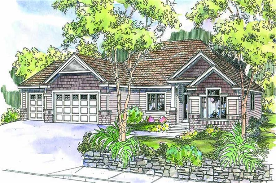 Main image for house plan # 13136