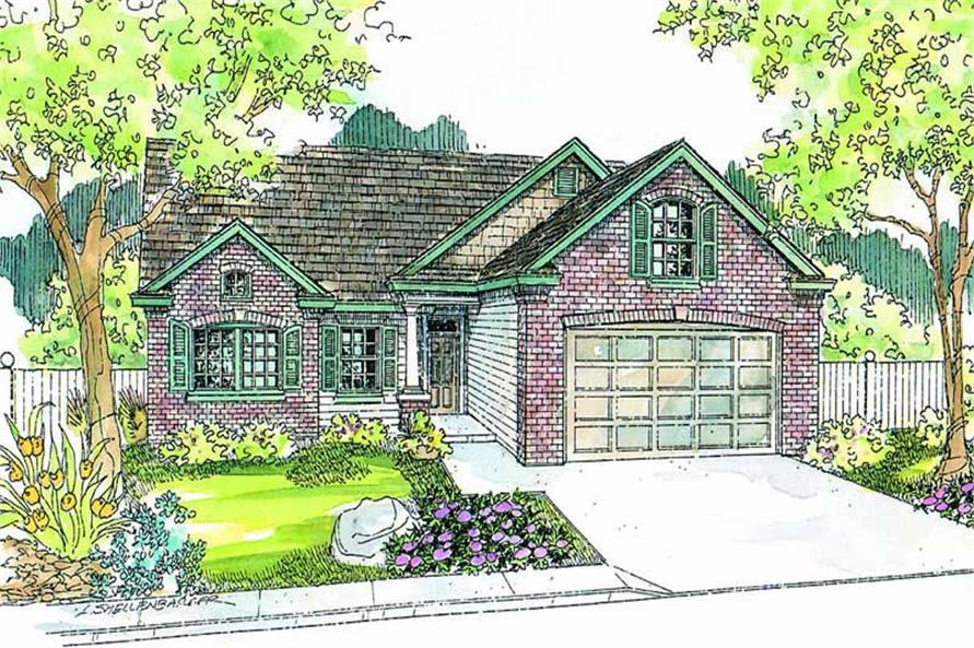 Main image for house plan # 13236