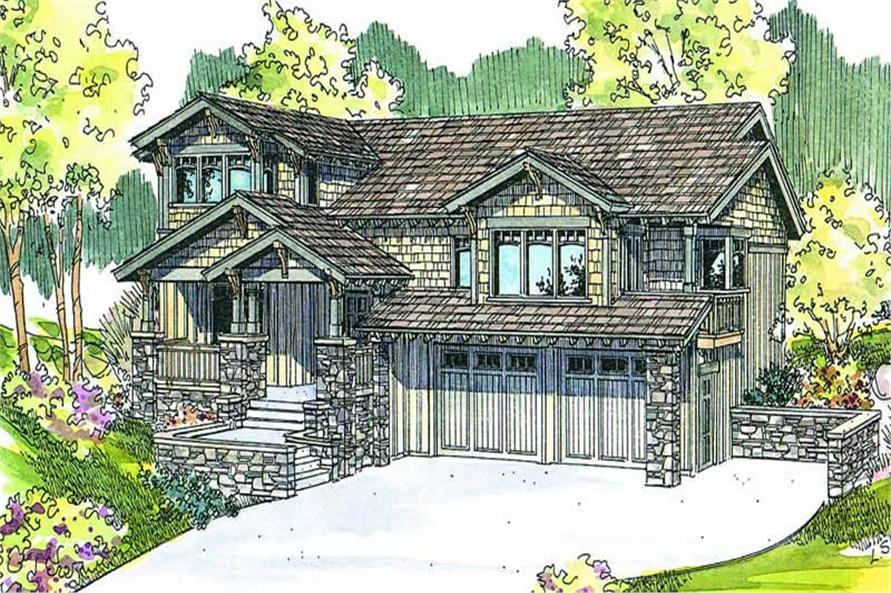 Main image for house plan # 13235