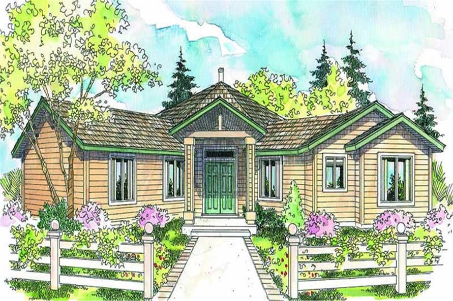 Main image for house plan # 13144