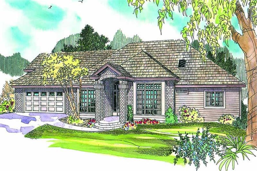 Main image for house plan # 13137