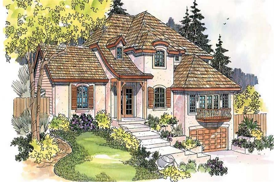 Main image for house plan # 11865