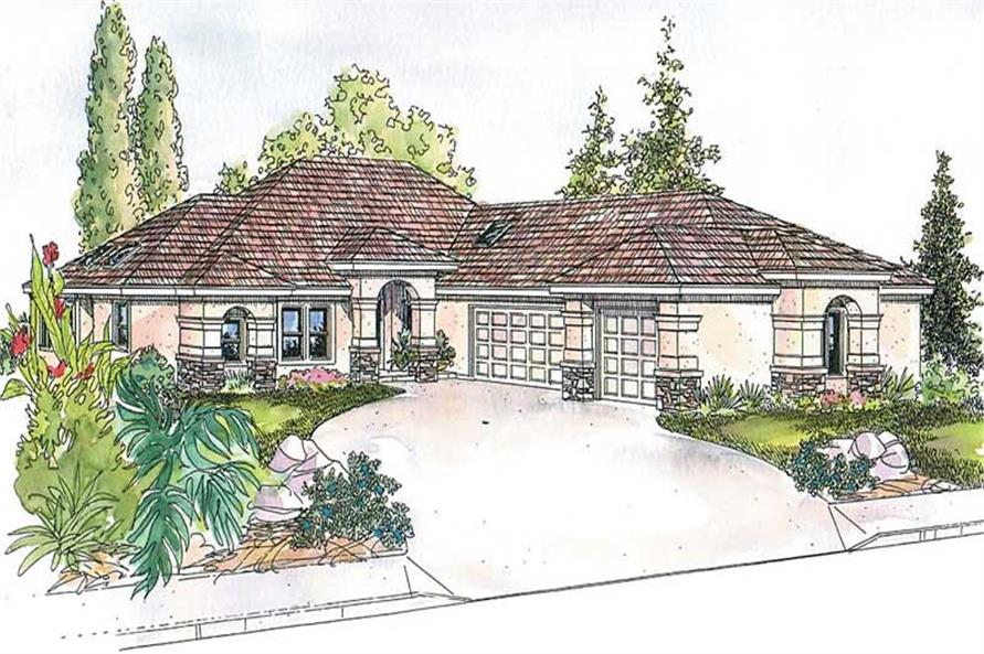 Main image for house plan # 11868