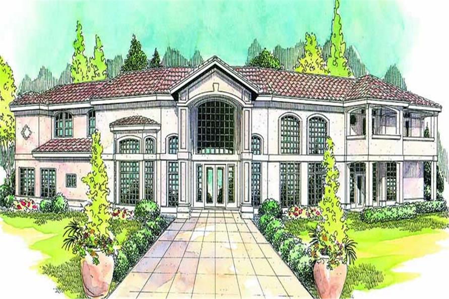 Main image for house plan # 13164