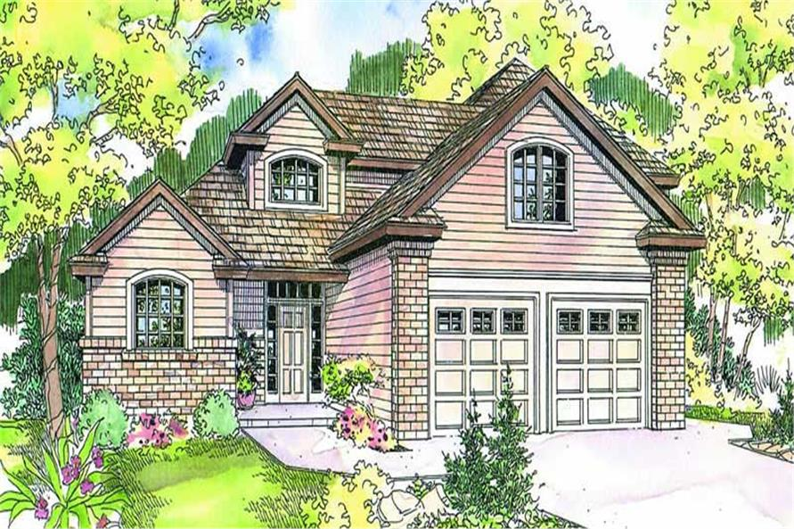 Main image for house plan # 13169