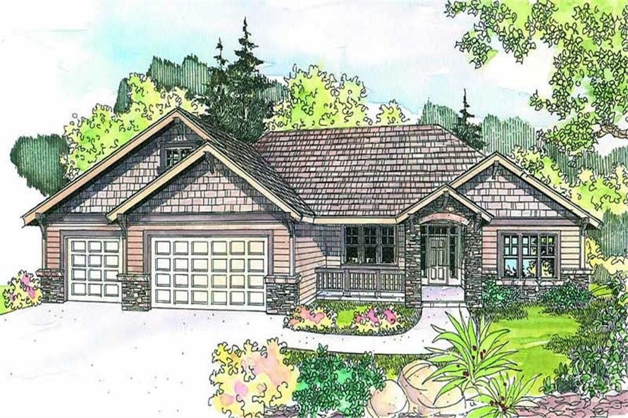 Main image for house plan # 13199