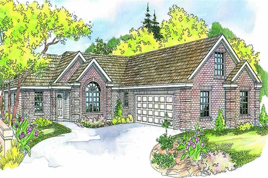 Main image for house plan # 13165
