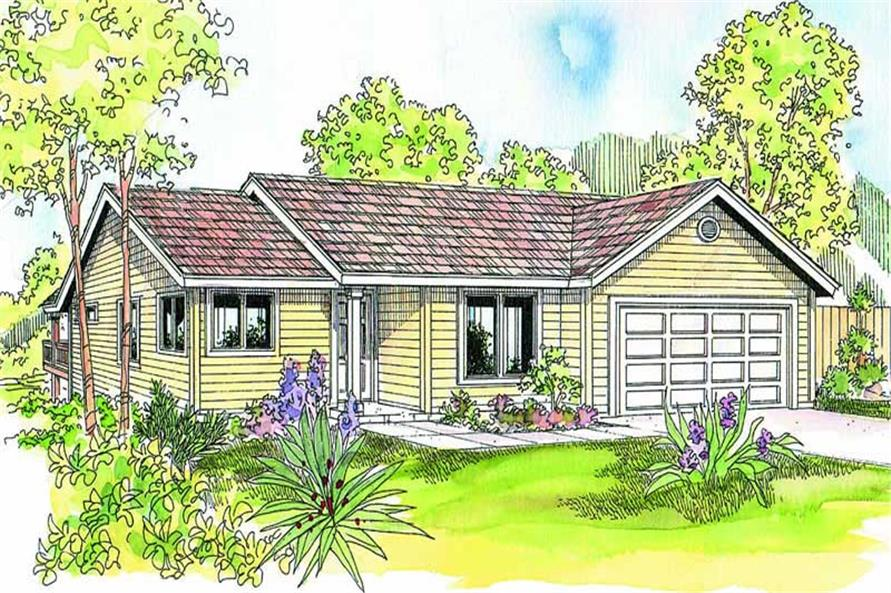 Main image for house plan # 13206