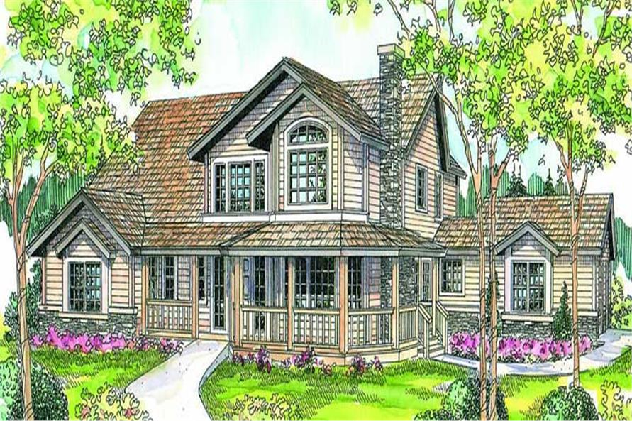 Main image for house plan # 13143
